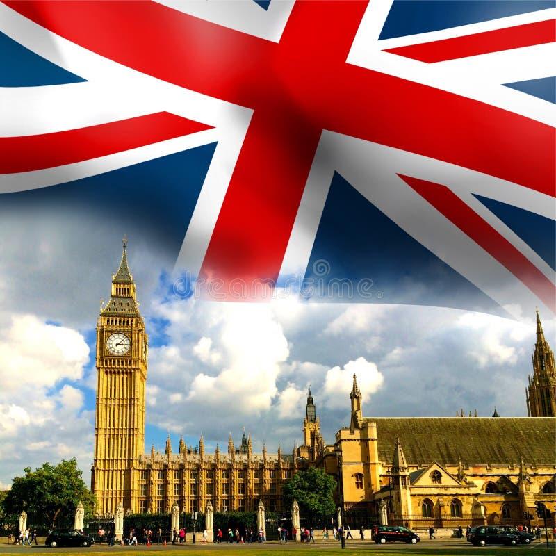 Casas do parlamento em Londres fotos de stock royalty free