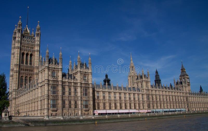 Casas do parlamento Londres fotografia de stock royalty free