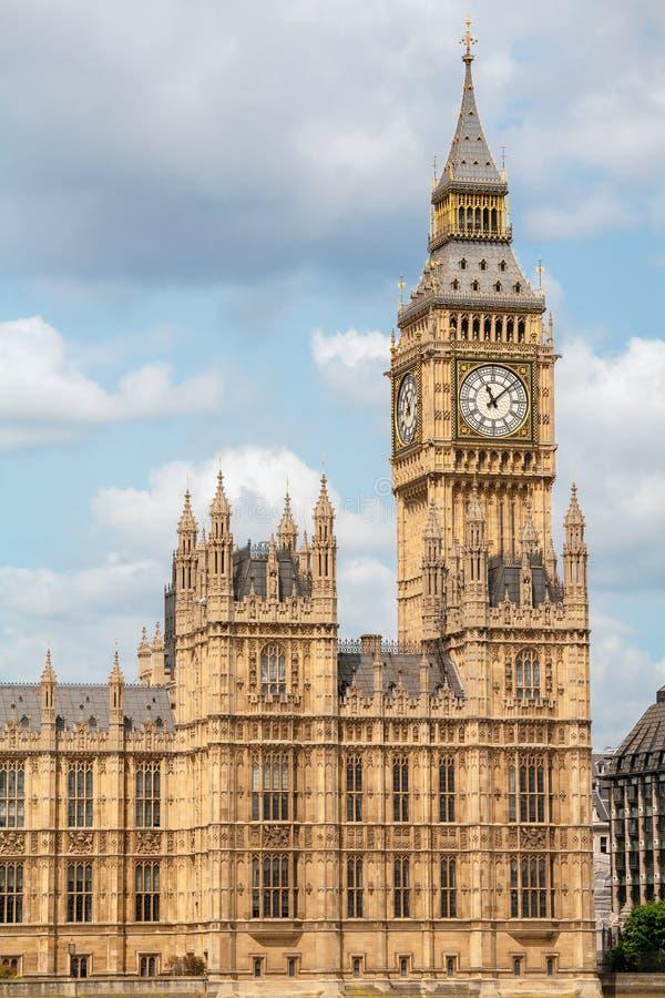 Casas do parlamento.  Londres, Reino Unido imagem de stock