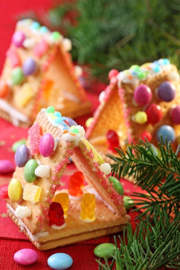Casas dulces foto de archivo