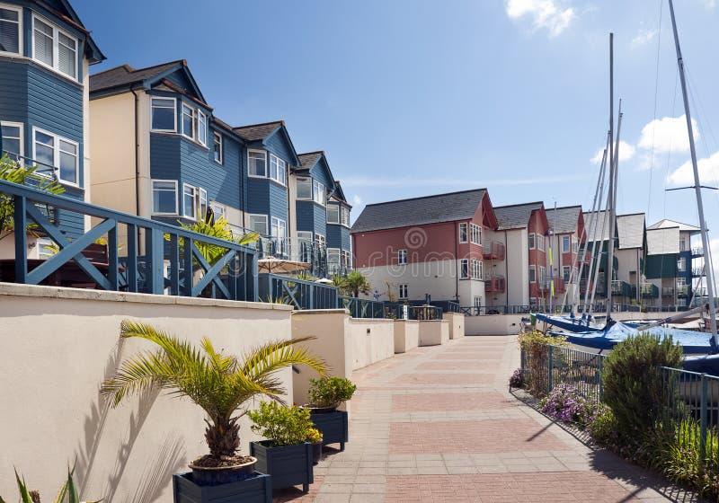 Casas e apartaments do porto fotos de stock royalty free