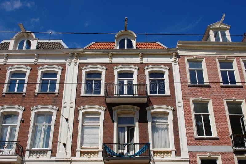 Casas em Amsterdão fotos de stock royalty free
