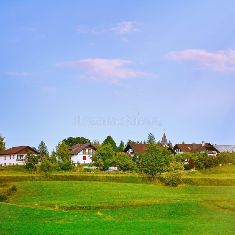 Casas em Eslovênia fotos de stock