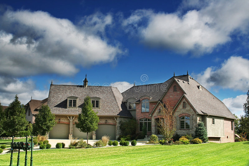 Casas em hamlet1 imagem de stock royalty free