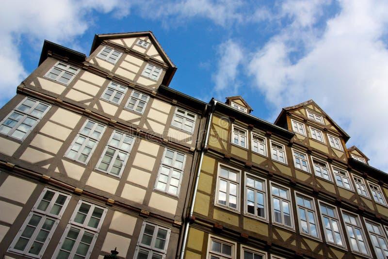 Casas em Hanover imagem de stock royalty free