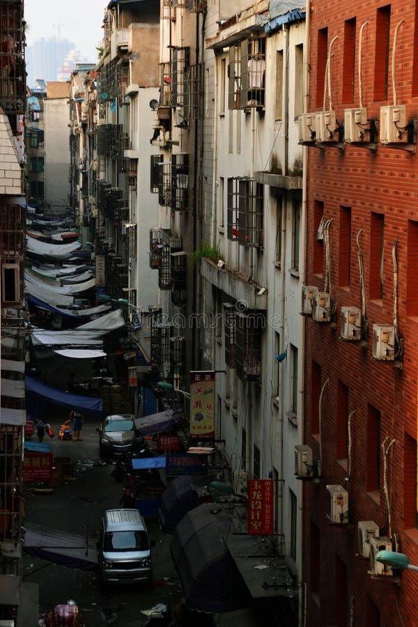 Casas em yiwu imagens de stock
