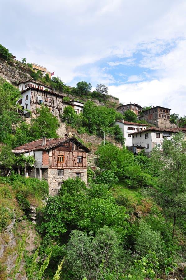 Casas En Anatolia Foto de archivo