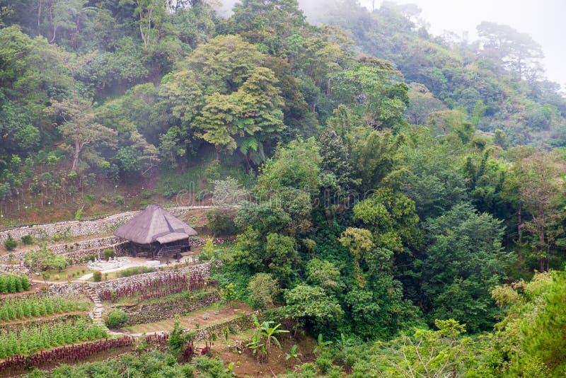 Casas en Baguio imagen de archivo libre de regalías