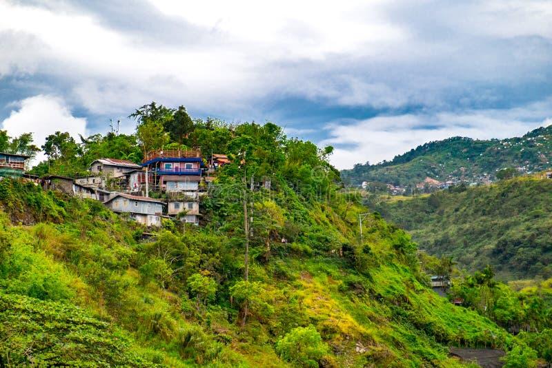 Casas en Baguio imagenes de archivo