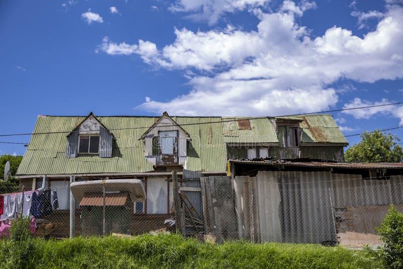Casas en un municipio en Suráfrica fotos de archivo libres de regalías