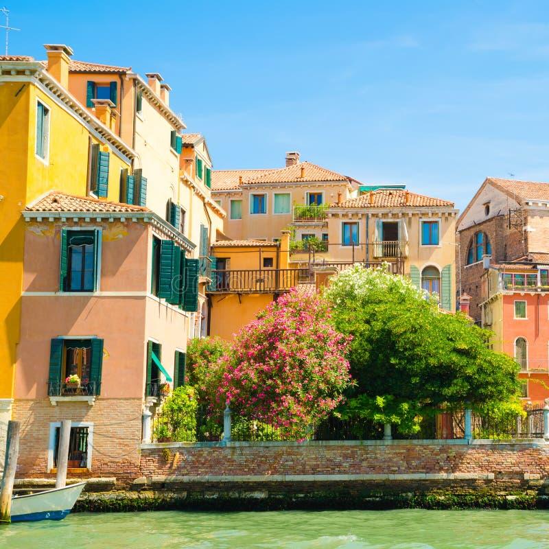 Casas en Venecia fotografía de archivo libre de regalías