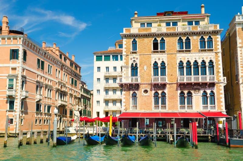 Casas en Venecia imagenes de archivo