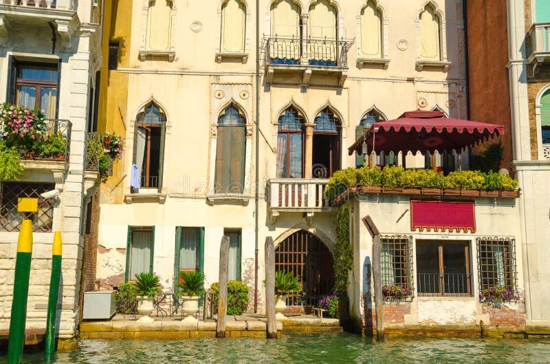 Casas en Venecia fotos de archivo libres de regalías