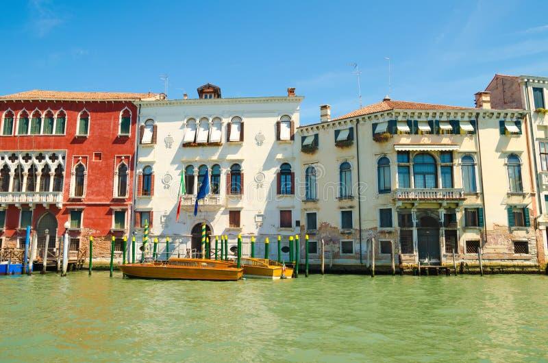 Casas en Venecia imagen de archivo libre de regalías