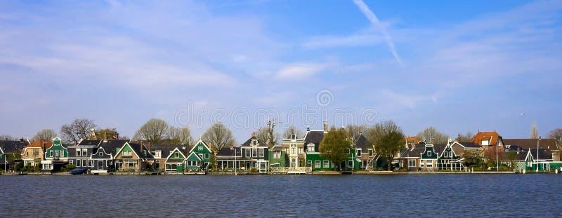 Casas Holanda foto de archivo libre de regalías