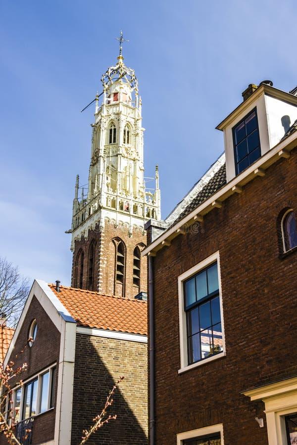Casas holandesas típicas viejas fotografía de archivo