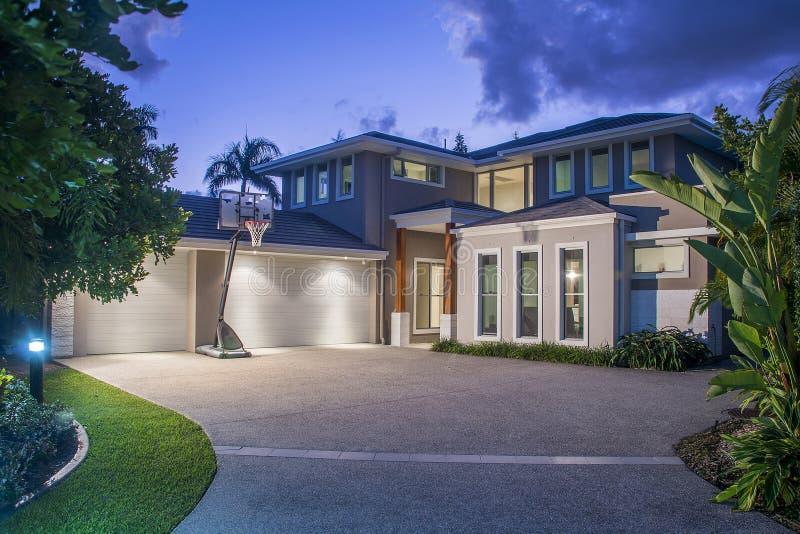 Casas luxuosas imagens de stock royalty free
