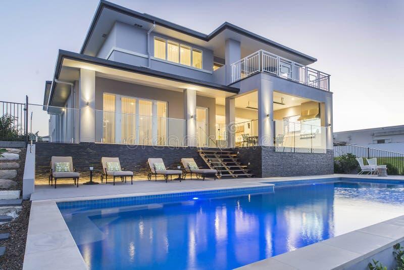 Casas luxuosas fotografia de stock