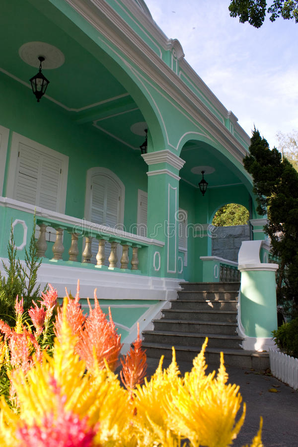 Casas Museu DA Taipa στο Μακάο στοκ φωτογραφία με δικαίωμα ελεύθερης χρήσης