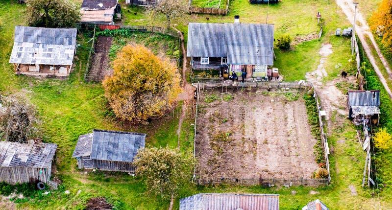 Casas no campo foto de stock royalty free
