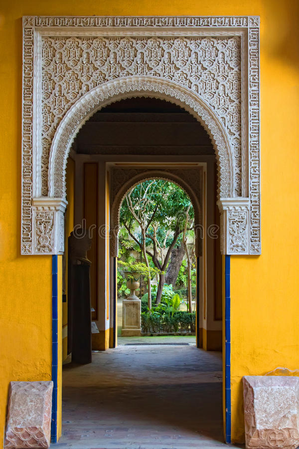 Casas Pilatos Sevilha fotos de stock royalty free