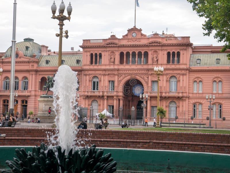 Casas Rosada, Buenos Aires, Argentina fotografia de stock royalty free