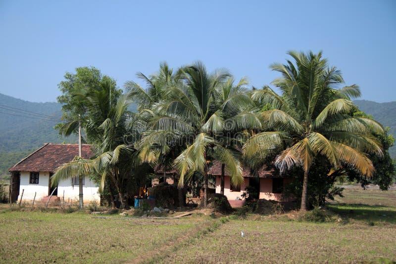 Casas rurais fotografia de stock royalty free