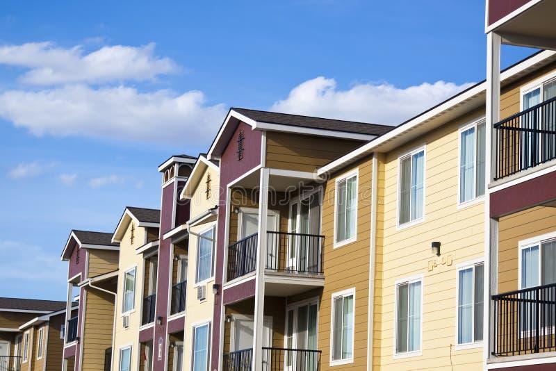 Casas suburbanas imagens de stock