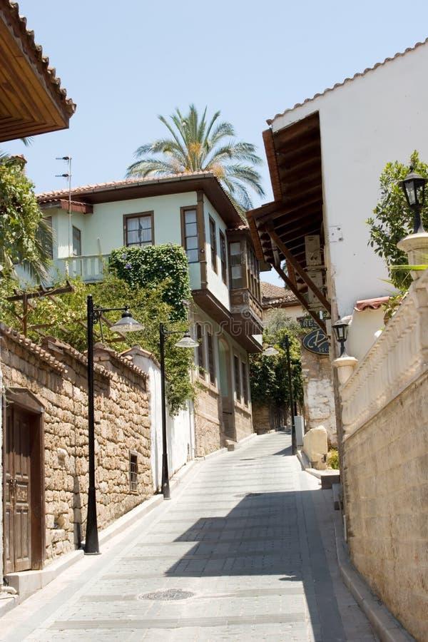 Casas tradicionales en Turquía imagen de archivo