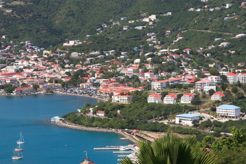 Casas tropicais no monte foto de stock royalty free