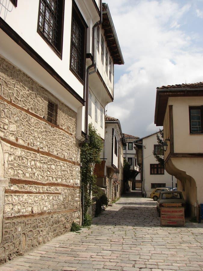 Casas turcas fotos de archivo