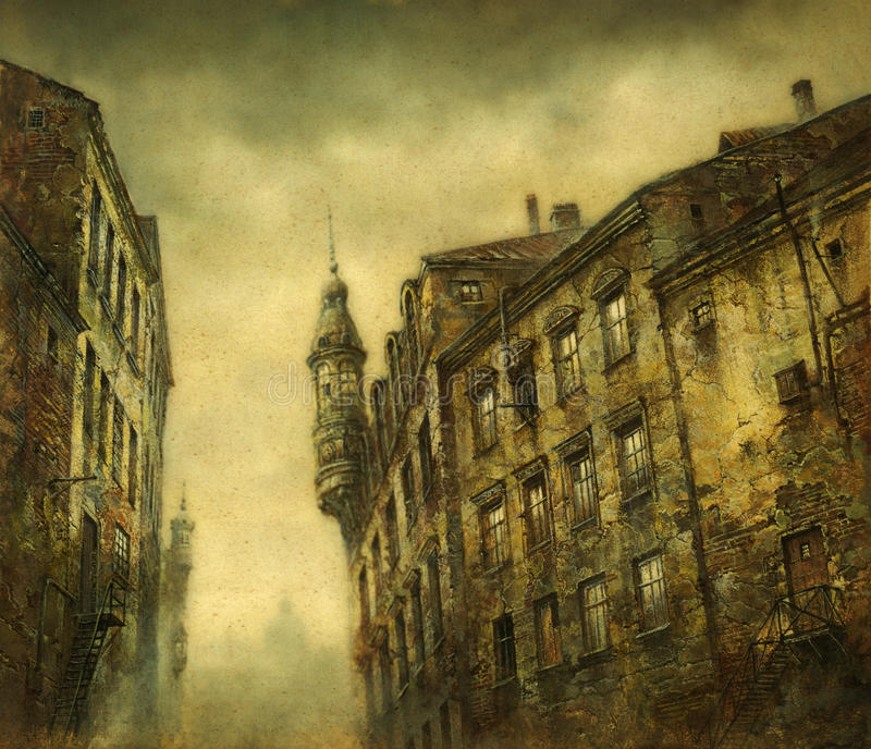 Casas viejas; libre illustration