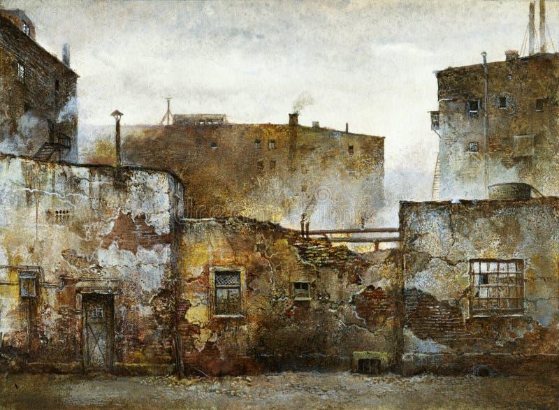 Casas viejas libre illustration