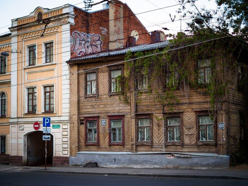Casas viejas fotos de archivo