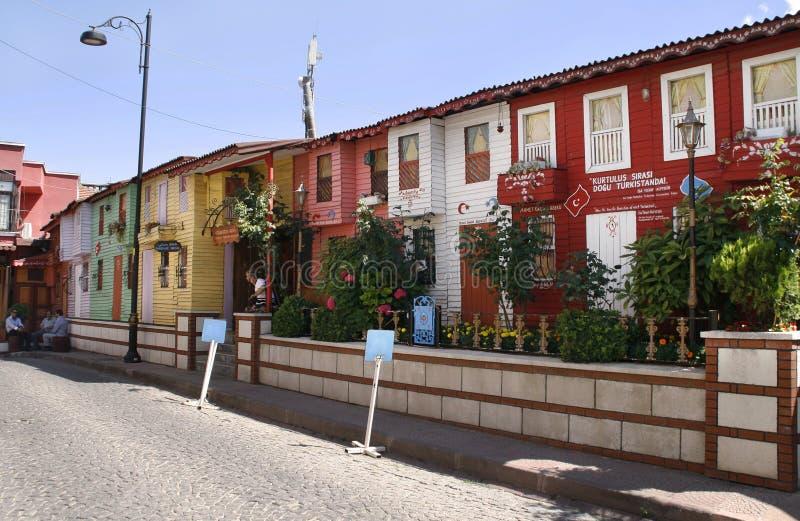 Casas viejas de Estambul fotografía de archivo