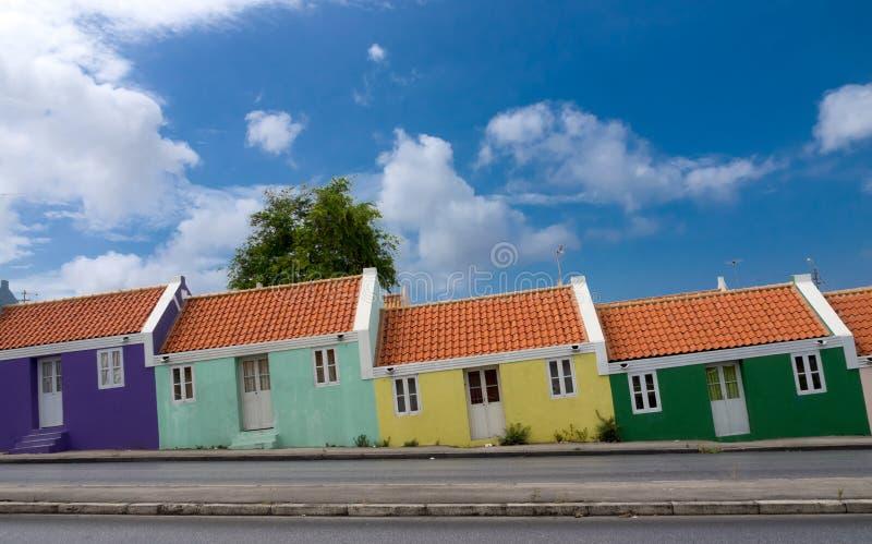 Casas viejas del criado de Scharloo foto de archivo