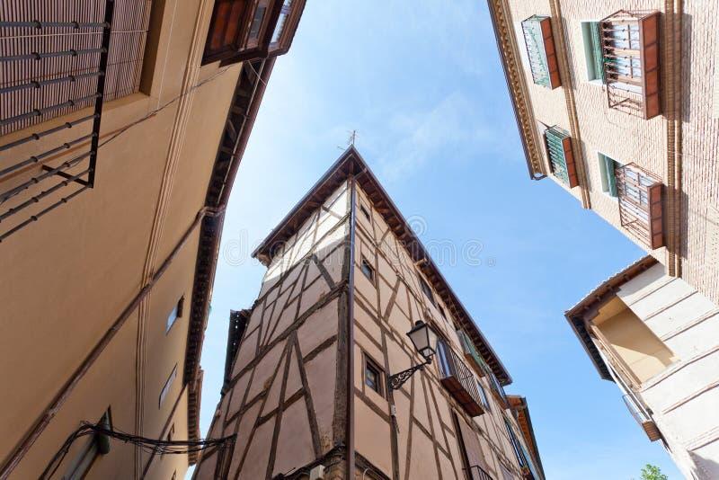 Casas viejas en Toledo imagen de archivo libre de regalías