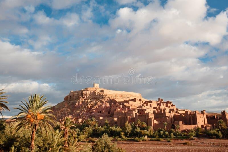 casbah Марокко benhaddou ait стоковые изображения
