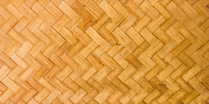 Casca de bambu fabricada imagem de stock