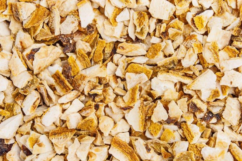 Casca de limão secada foto de stock royalty free