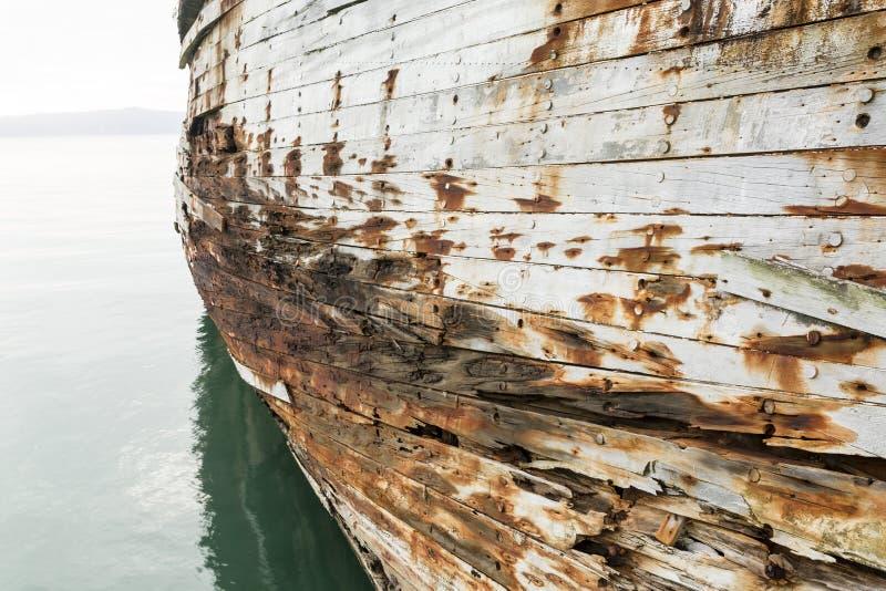 Casca velha do navio fotos de stock royalty free