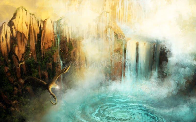 Cascada libre illustration