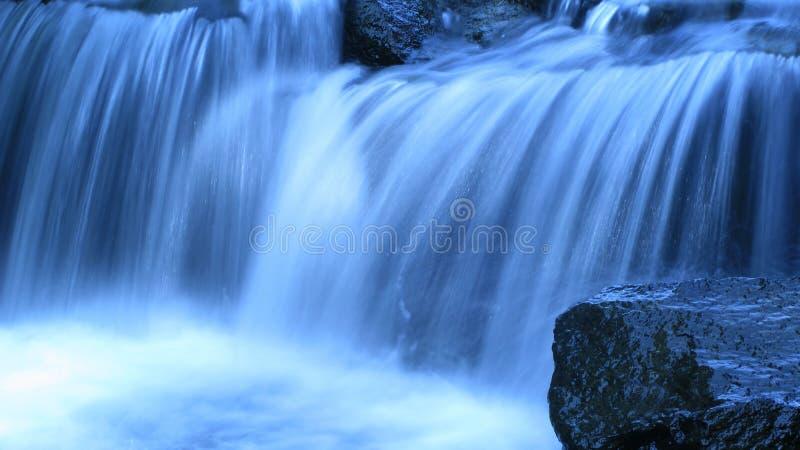Cascada azul imagen de archivo