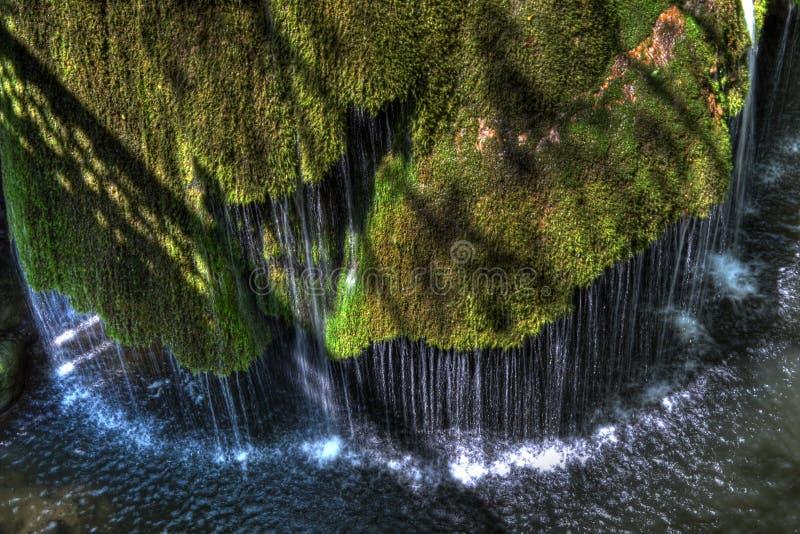 Cascada Bigar en Rumania imagenes de archivo