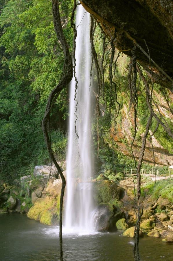 Cascada (cascada) Misol ha imagen de archivo