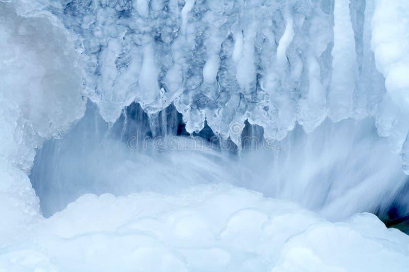 Cascada congelada 2 fotografía de archivo libre de regalías
