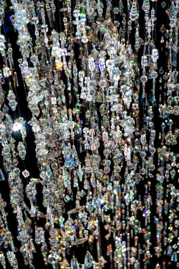 Cascada cristalina foto de archivo libre de regalías