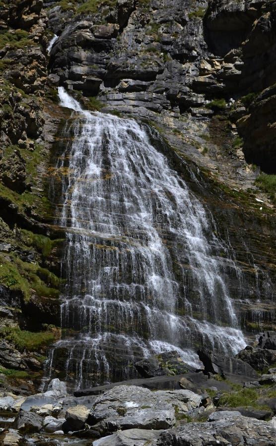 Cascada de Ла Кола de Caballo стоковая фотография