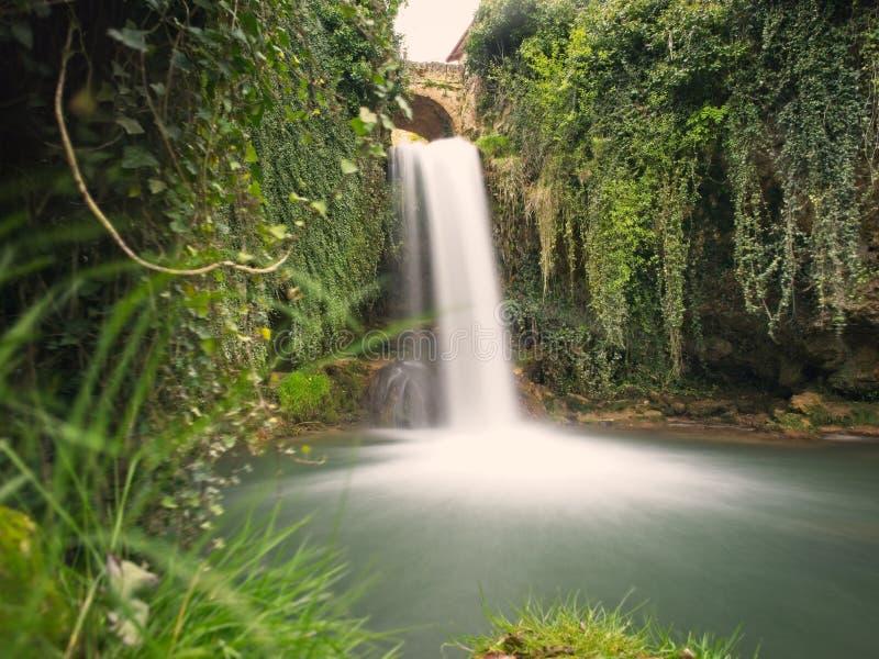 Cascada de agua stock image