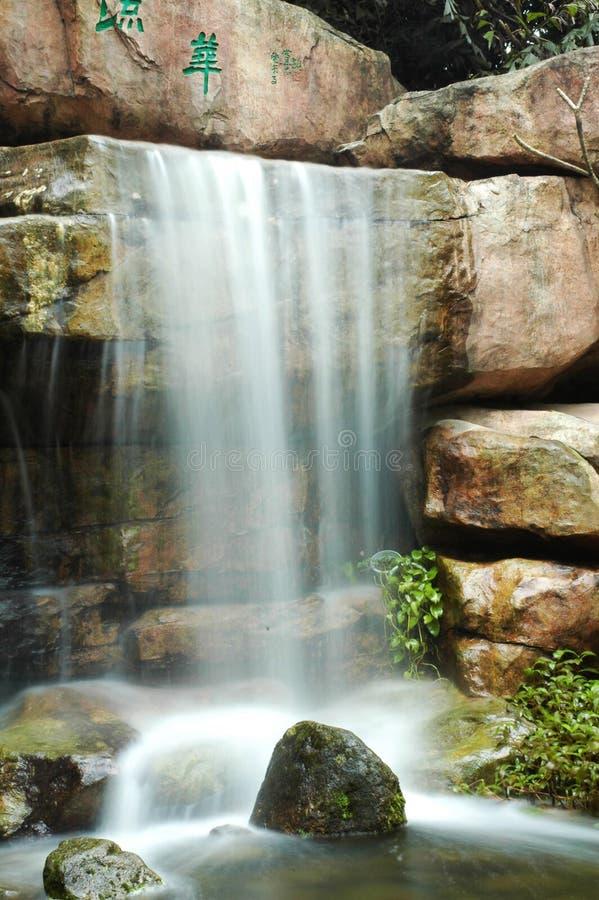 Cascada de Arifical fotografía de archivo libre de regalías